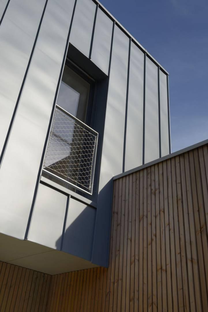 Extension et renovation d'une double angevine (Suite)