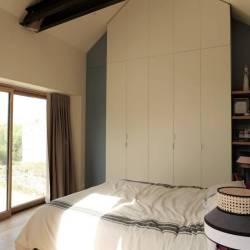 La maisonnette transformée en chambre